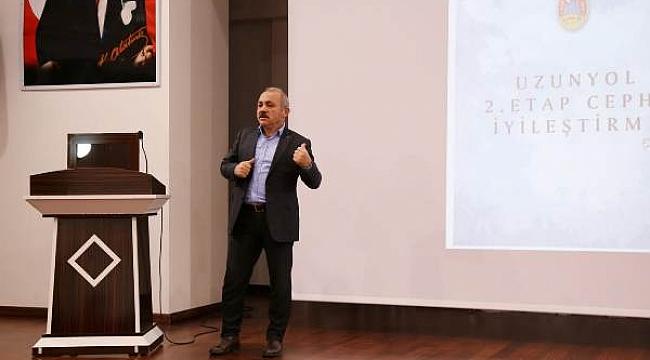 Başkan Esen, Çalışmalarını Muhtarlara Anlattı