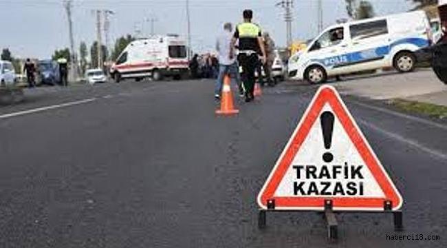 Çankırı'da otomobil bariyerlere çarptı: 1 ölü, 3 yaralı