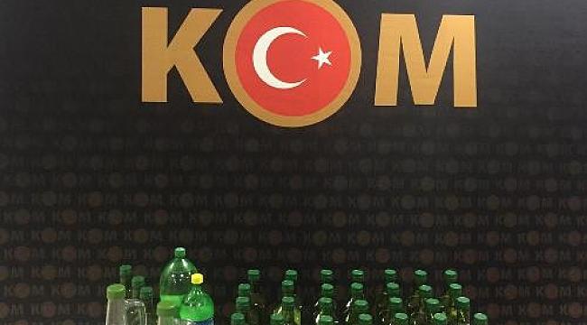 Çankırı'da Sahte İçki Yakalandı