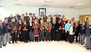 Muharip Gazilerimiz İçin Milli Mücadele Madalyası ve Beratı Tevcih Töreni Gerçekleştirildi