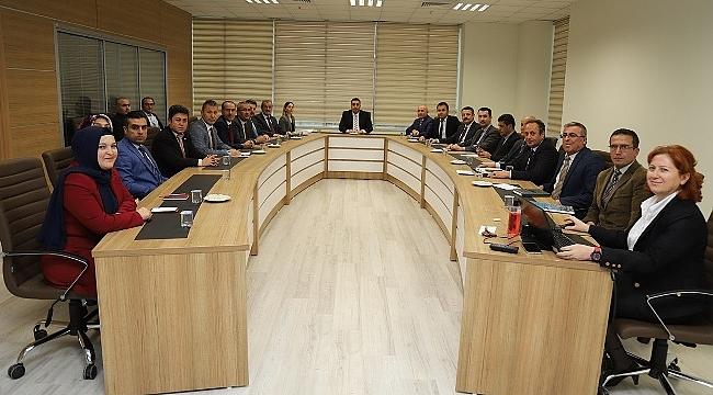 Yeni Hükümet Konağı İstişare Toplantısı Yapıldı