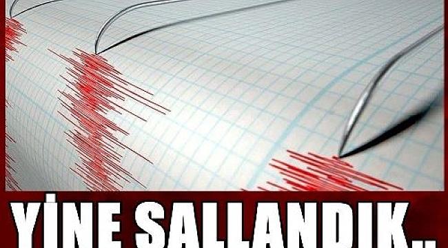 Ankara'da Korkutan Deprem, Çankırı'da da Hissedildi
