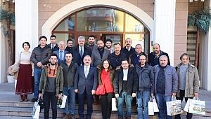 Çankırı Belediye Başkanı İsmail Hakkı Esen Çalışan Gazeteciler İle Bir Araya Geldi