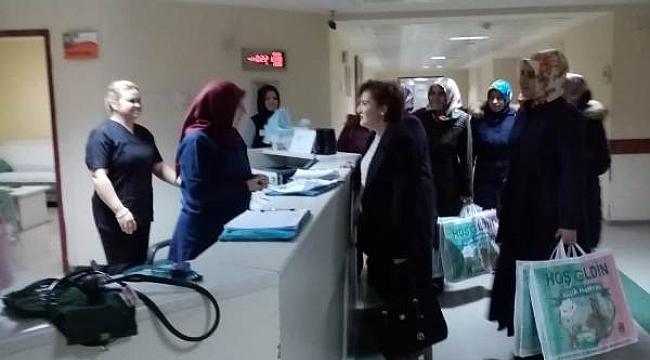 Çankırı'da Dünya'ya Gelen 2020 Yılının İlk Bebeklerine