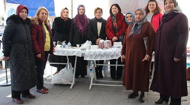 Çankırı'da MHP'li Kadınlardan Yardım Kermesi