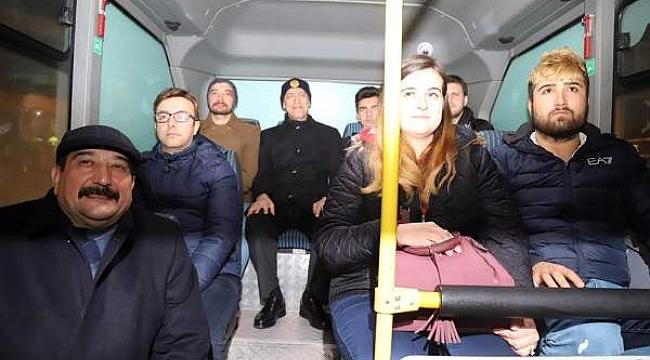 Çankırı Valisi Hamdi Bilge Aktaş Uygulama Noktasında Halkın Yeni Yılını Kutladı