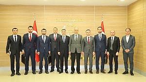 Cumhurbaşkanlığı Yatırım Ofisi Daire Başkanı Ferruh Parmaksız Çankırı'da