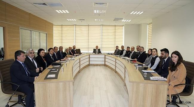 Kadına Yönelik Şiddetle Mücadele Üst Komisyon Toplantısı Yapıldı