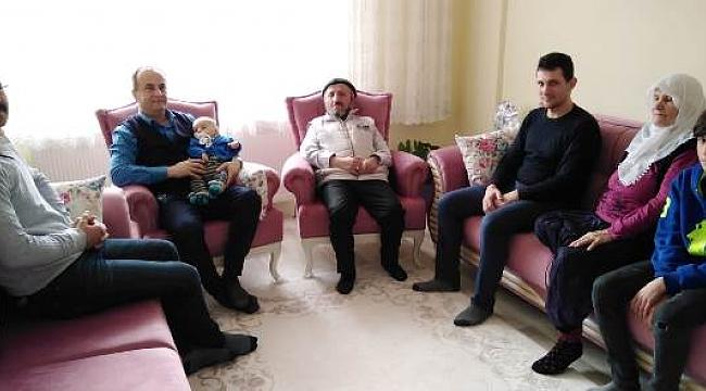 Şehit J.Er Satılmış Boybaşı'nın Ailesi Ziyaret Edildi