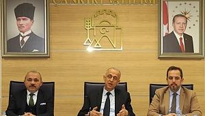 Vali Hamdi Bilge Aktaş Başkanlığında Depremle İlgili İstişare Toplantısı Yapıldı