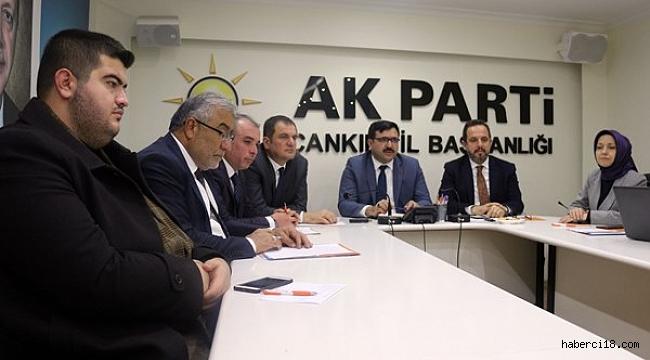 AK Parti İl Başkanlığı Halk Günü Buluşmasının Ardından Basın Toplantısı Gerçekleştirdi