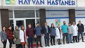 Çankırı'ya Hayvan Hastanesi Açıldı