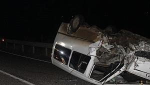 Çankırı-Yapraklı Karayolu Güzergahında Trafik Kazası 1 Ölü 3 Yaralı