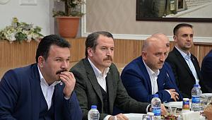 Eğitim-Bir-Sen ve Memur-Sen Genel Başkanı Ali Yalçın, Eğitim-Bir-Sen Çankırı Şubesi'nin İl Divan Toplantısına Katıldı