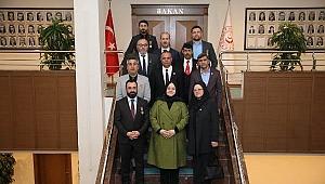 Türkiye Gaziler Ve Şehit Aileleri Vakfı Çankırı Şube Başkanlığı Kuruldu