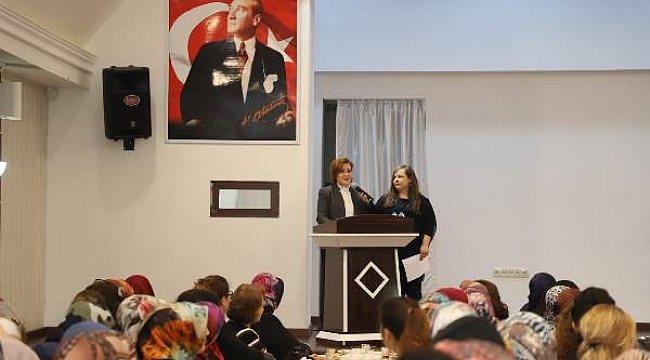 Başkan Esen Kadın Çalışanları ile Bir Araya Geldi