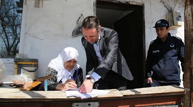 Çankırı Belediyesi'nden 74 Vatandaşa Aceze Yardımı