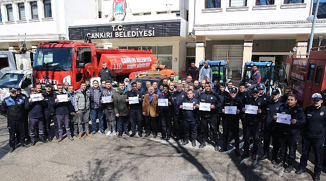 Çankırı'da Temizlik Seferberliği Tam Gaz Devam