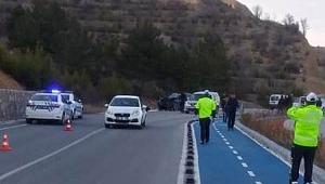 Çankırı'da Trafik Kazası 1 Ölü 1 Yaralı