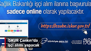 İŞKUR Çankırı'da İşçi Alımı Yapacak