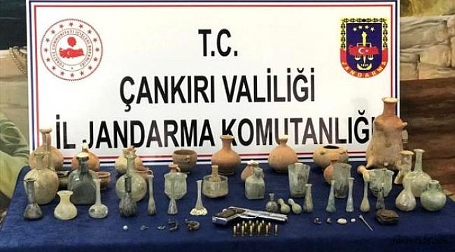 Çankırı'da Tarihi Eser Kaçakçılığı İddiasıyla 3 Kişi Gözaltına Alındı