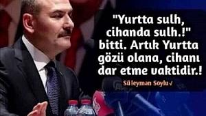 İçişleri Bakanı Süleyman Soylu'nun İstifası Kabul Edilmedi