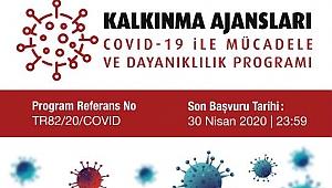 KUZKA'dan COVID-19 ile Mücadele ve Dayanıklılık Programı İlanı