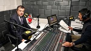 Rektör Ayrancı Radyo Neşe'ye Konuk Oldu