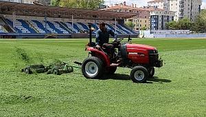Çankırı Atatürk Stadyumunun Çimleri Güçlendi