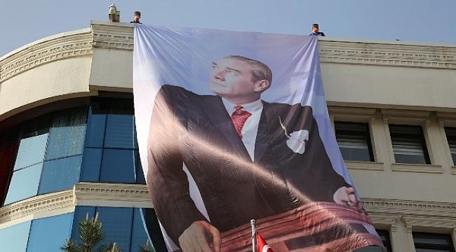 Çankırı Belediyesi 19 Mayıs'ta Atatürk'ü Andı