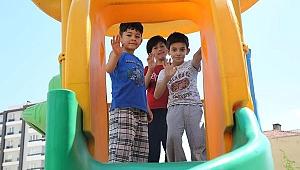 Çankırı Sokakları 45 Gün Sonra Çocuk Sesleriyle Şenlendi