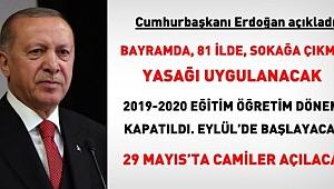 Cumhurbaşkanı Açıkladı Bayramda 81 İl'de Sokağa Çıkma Yasağı Uygulanacak