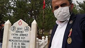 Şehidimiz'in Mezar Yapımı Çankırı Şehit ve Gaziler Derneği Öncülüğünde Gerçekleşti