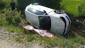 Bayan Öğretmenimiz Tek Taraflı Trafik Kazasında Yaralandı