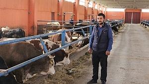 Genç Yatırımcımız Kadir Karakaya 1 Milyon 250 Bin Lira Destekle Besi Çiftliğinin Sahibi Oldu