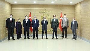 İlimiz Milletvekilleri ve AK Parti İl Yönetiminden Valimiz Abdullah Ayaz'a Ziyaret