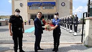 Valimiz Abdullah Ayaz, Emniyet Müdürlüğü ve Jandarma Komutanlığını Ziyaret Etti