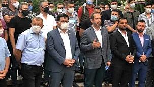 1074 Çankırıspor Karatekin Parkında Basın Açıklaması Yaptı