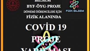 Ahmet Mecbur Efendi Bilim ve Sanat Merkezi Covid-19 Projesi Kategorisinde Türkiye 2.Si