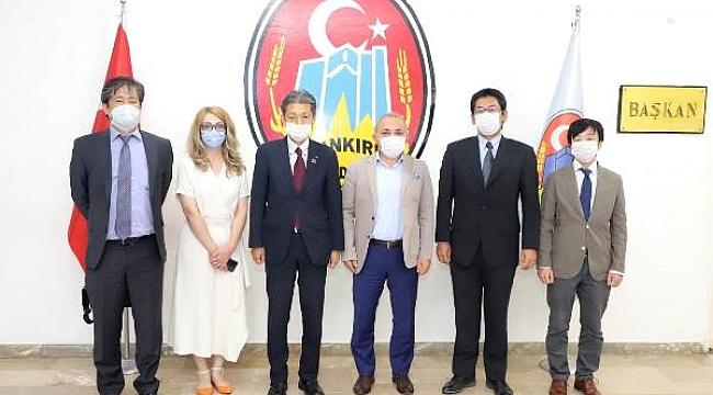 Başkan Esen, Japon Lastik Devinin Çankırı'da Kuruluşunun 5. Yılını Kutladı