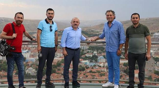 """Başkan Esen, """"Vahe ile Evdeki Mutluluk""""  Programında Çankırı'yı Tanıttı"""