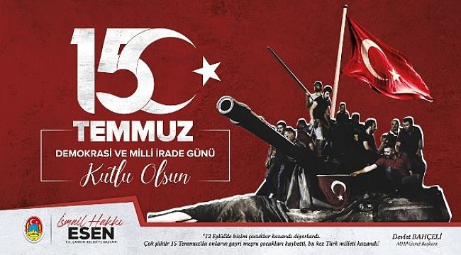 Çankırı'da 15 Temmuz Demokrasi ve Milli Birlik Günü Böyle Anılacak