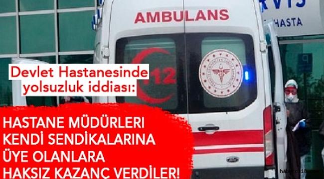 Çankırı Devlet Hastanesindeki Yolsuzluk İddiası TBMM'ye Kadar Geldi