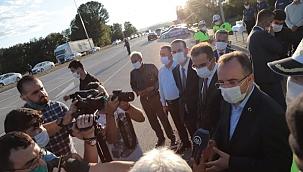 İçişleri Bakan Yardımcısı İsmail Çataklı Çankırı'da Trafik Denetimine Katıldı