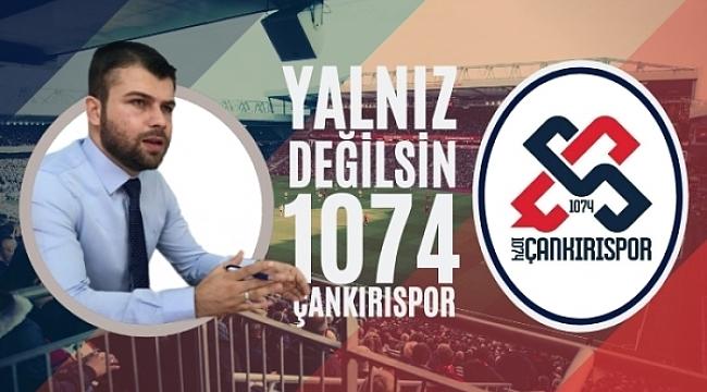 Müjdeci'nin 1074 Çankırıspor İle İlgili Basın Açıklaması
