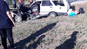 Çankırı'nın Orta İlçesinde Ölümlü, Yaralanmalı Trafik Kazası 1 Ölü 2 Yaralı