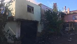 Çankırı'nın Tüney Köyünde Yangın