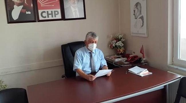 CHP Çankırı İl Başkanı İlhan Tekin İktidarı Tarım Üzerinden Eleştirdi