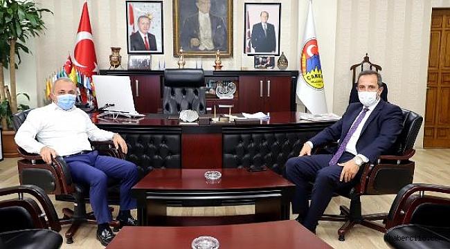 Milletvekili Çivitçioğlu'ndan Başkan Esen'e Nezaket Ziyareti