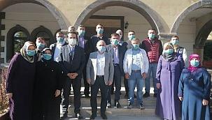 Başkan Esen Mezarlık Hizmetleri Personeli ile Buluştu